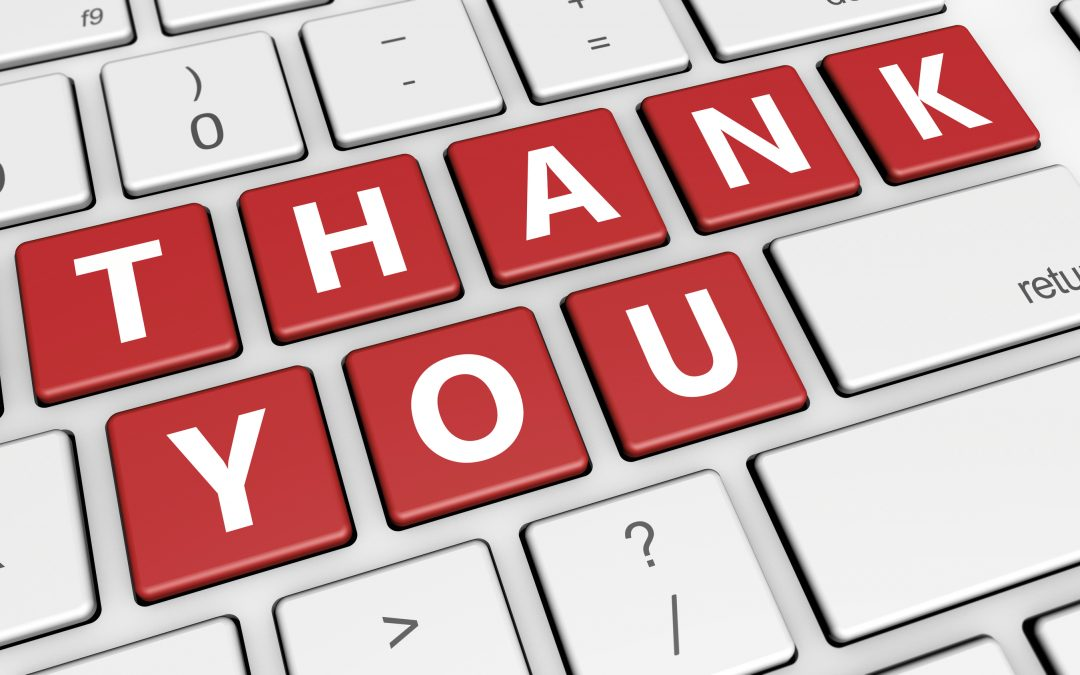 Don't Take It Personally and the Simple Art of Saying Thank You