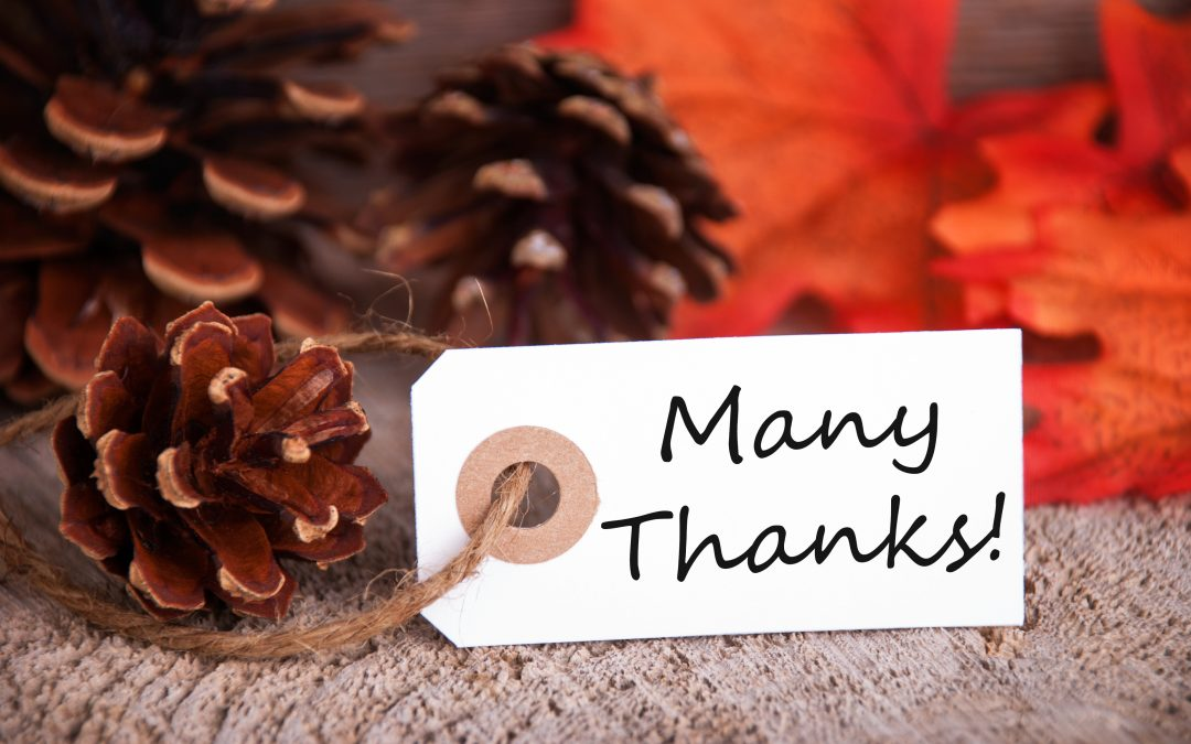 Don't Forget the Thanks in Thanksgiving